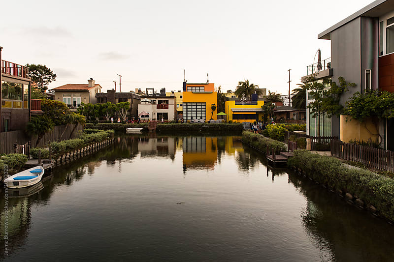 Famous Canals of Venice, California by Jayme Burrows for Stocksy United