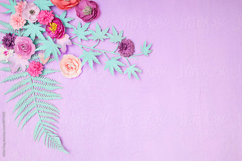 Spring background with copyspace by Alita Ong for Stocksy United