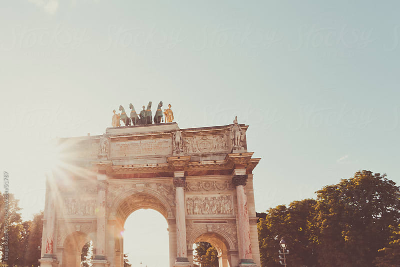 Arc Du Carrousel in Paris France by Image Supply Co for Stocksy United