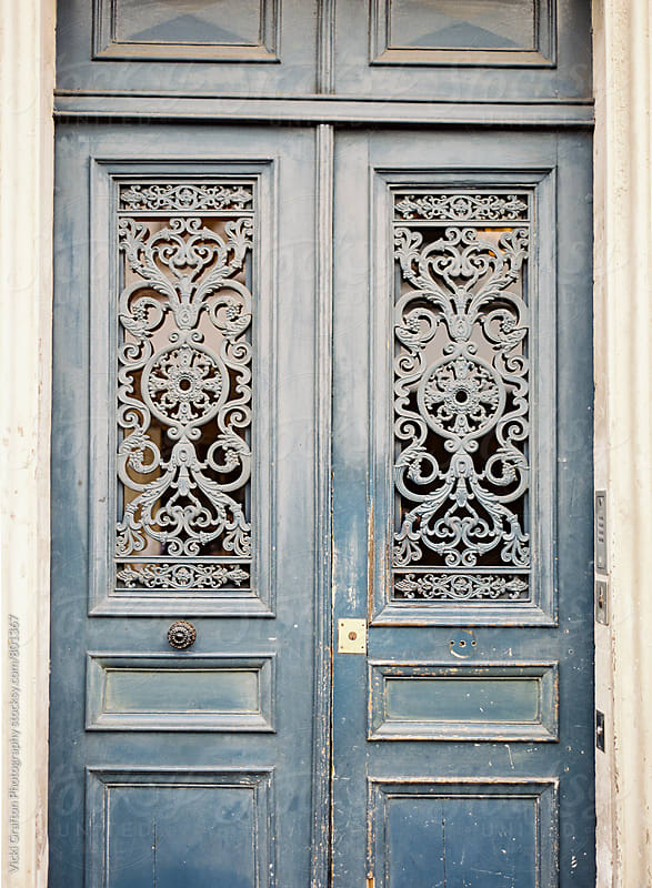 Doorway in Paris by Vicki Grafton Photography for Stocksy United