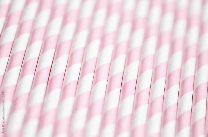 Paper Straws Abstract by Julie Rideout for Stocksy United