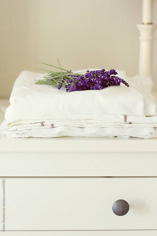 Lavender and Linen by Helen Rushbrook for Stocksy United