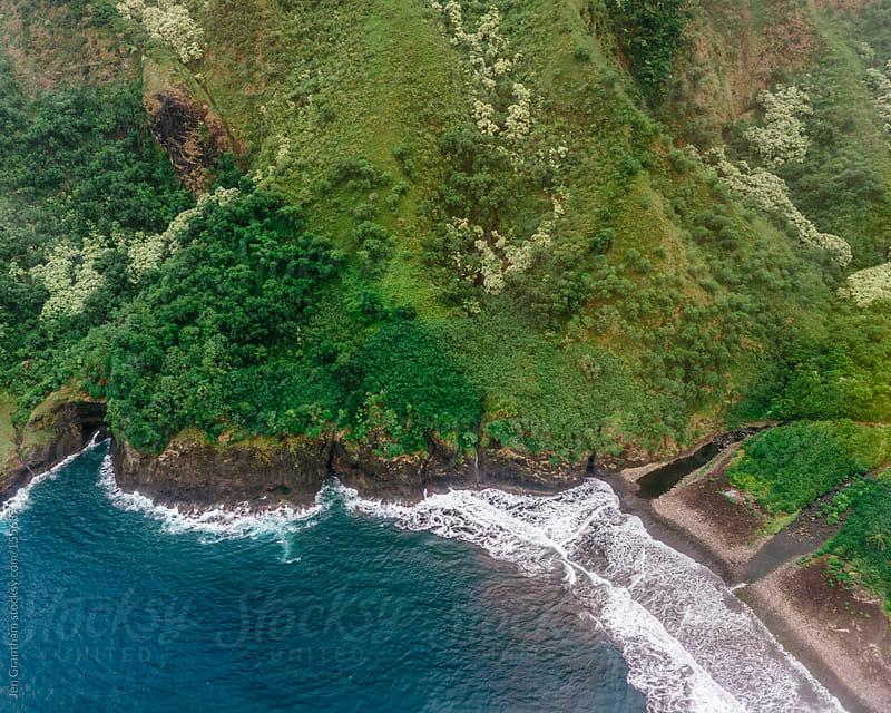 Moloka'i Coastline by Jen Grantham for Stocksy United
