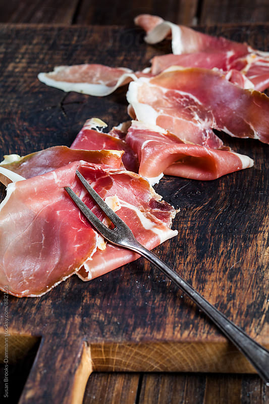 Smoked ham   by Susan Brooks-Dammann for Stocksy United