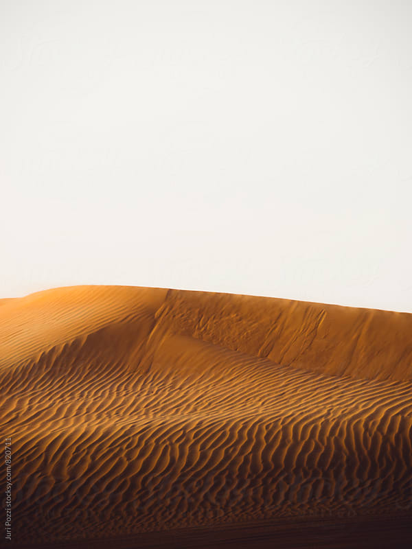 dunes at sunset by Juri Pozzi for Stocksy United