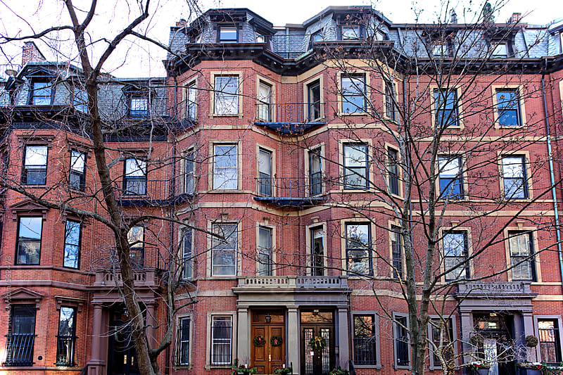 Brownstone building in Boston by Kim Lucian for Stocksy United