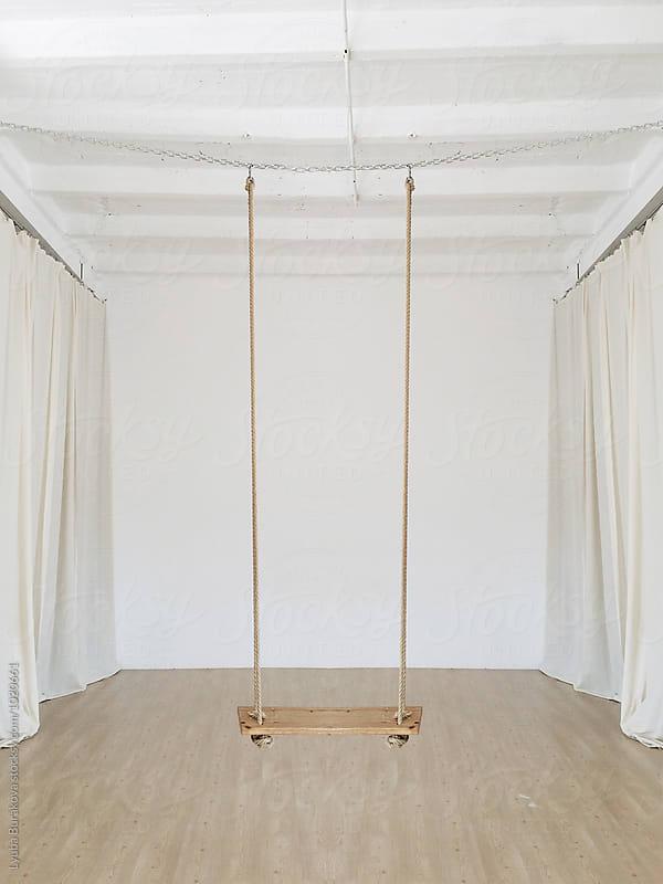 Swing in a loft by Lyuba Burakova for Stocksy United