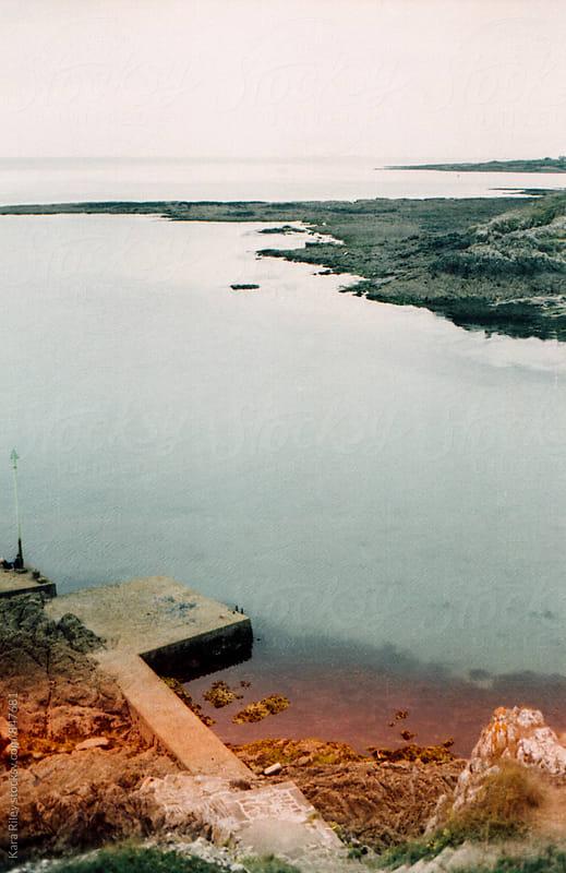 Peaceful coastal inlet France by Kara Riley for Stocksy United