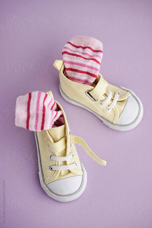 Objects: Toddler's Sneakers with Socks by Ina Peters for Stocksy United