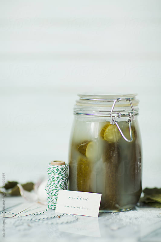 Pickled cucumber by Török-Bognár Renáta for Stocksy United