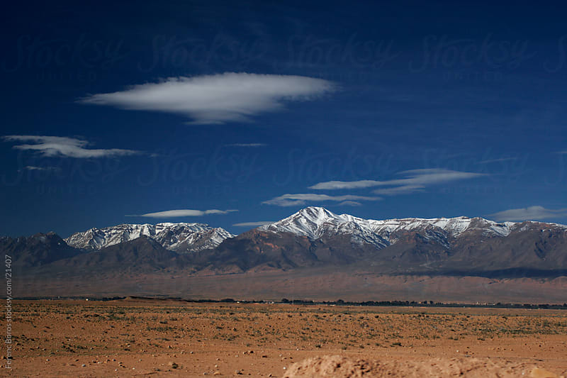 Atlas Mountains in Morocco by Ferenc Boros for Stocksy United