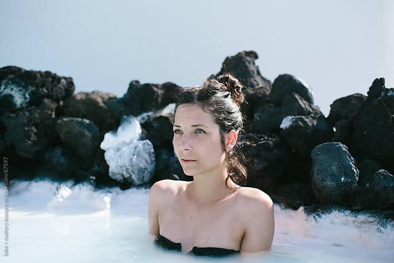 Lagoon Girl by luke + mallory leasure for Stocksy United