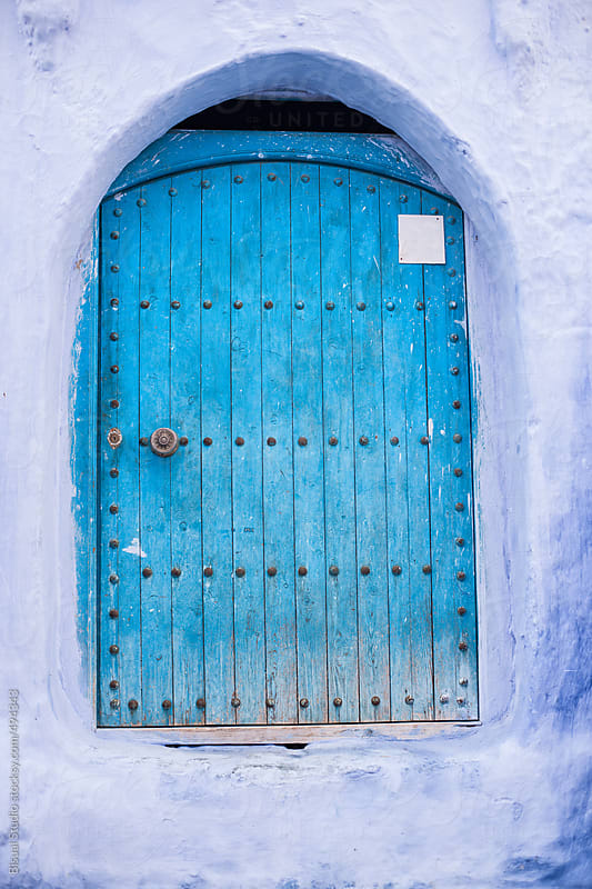 Chaouen, the moroccan blue city by Bisual Studio for Stocksy United