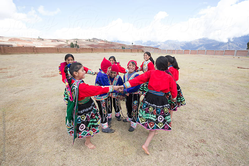 Traditional Peruvian School. Cusco. Peru. by Hugh Sitton for Stocksy United
