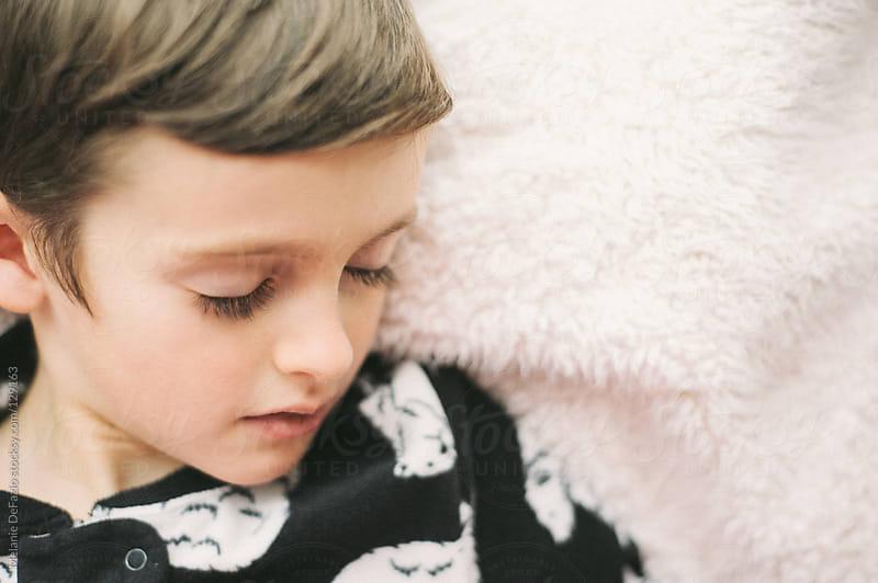Sleeping Child by Melanie DeFazio for Stocksy United
