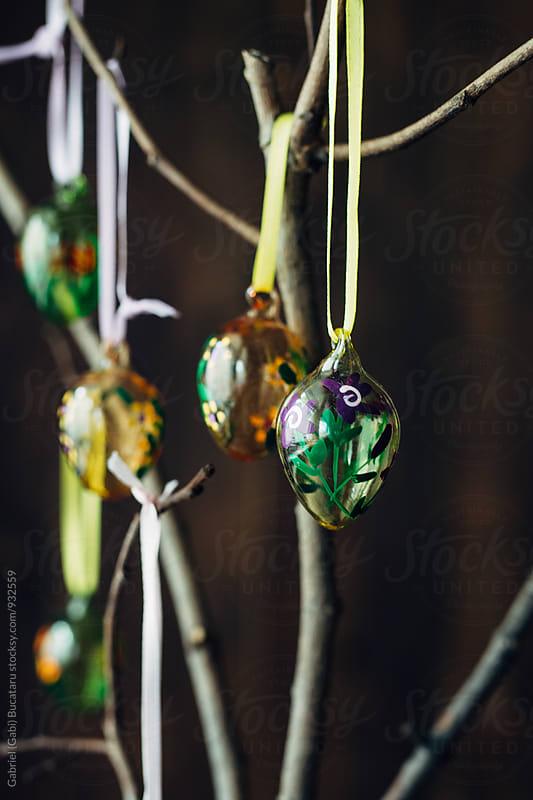 Colorful decorative Easter Eggs by Gabriel (Gabi) Bucataru for Stocksy United