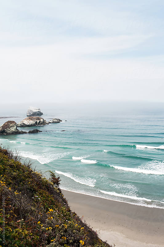 Sand Dollar Beach, Big Sur by Kayla Snell for Stocksy United