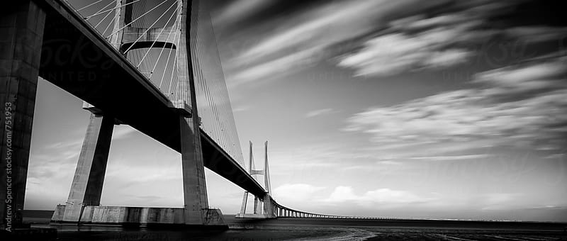 Vasco Da Gama Bridge by Andrew Spencer for Stocksy United