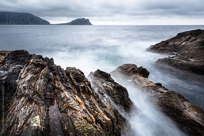 A rocky shoreline by Jonatan Hedberg for Stocksy United
