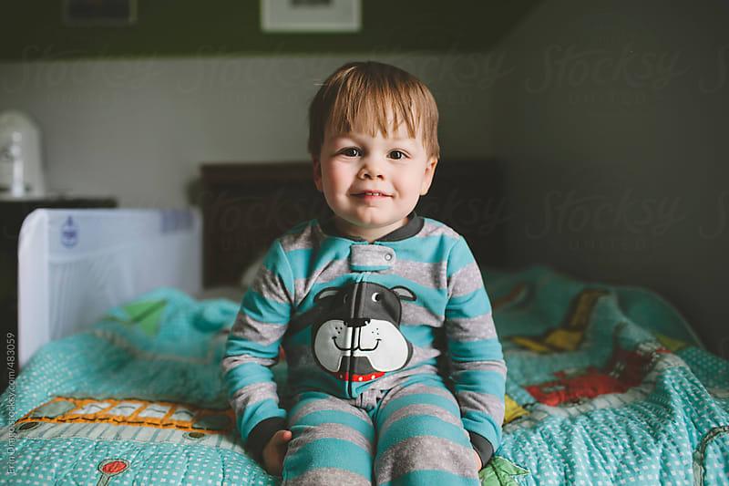 toddler boy by Erin Drago for Stocksy United
