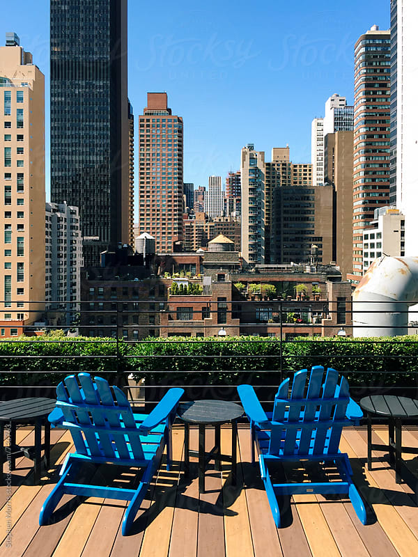 Midtown Manhattan Rooftop View by Stephen Morris for Stocksy United