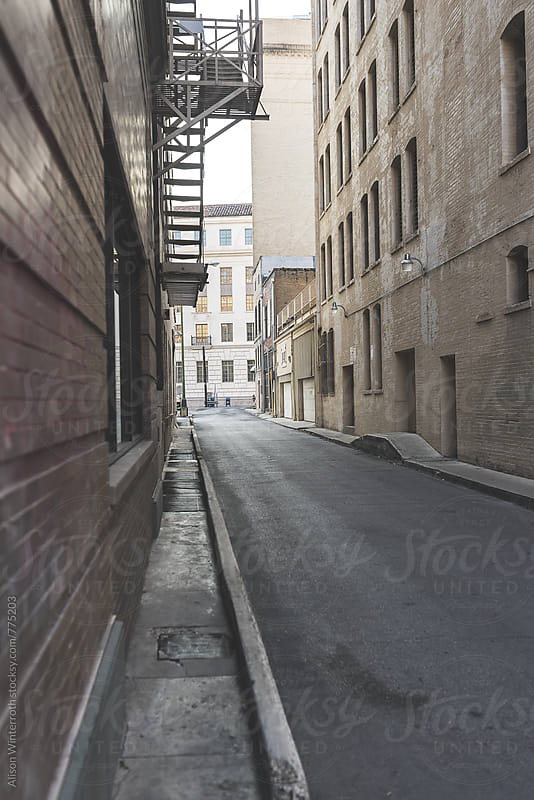 An Empty Alleyway by Alison Winterroth for Stocksy United