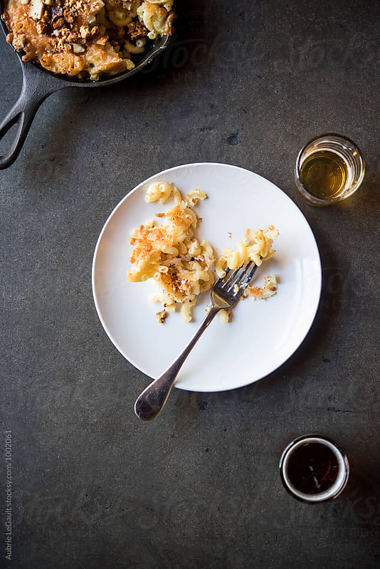 Macaroni Cheese by Aubrie LeGault for Stocksy United