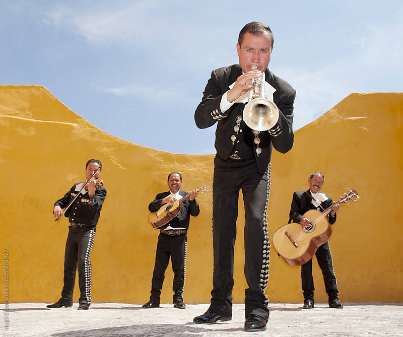 Mariachi Band. Mexico by Hugh Sitton for Stocksy United