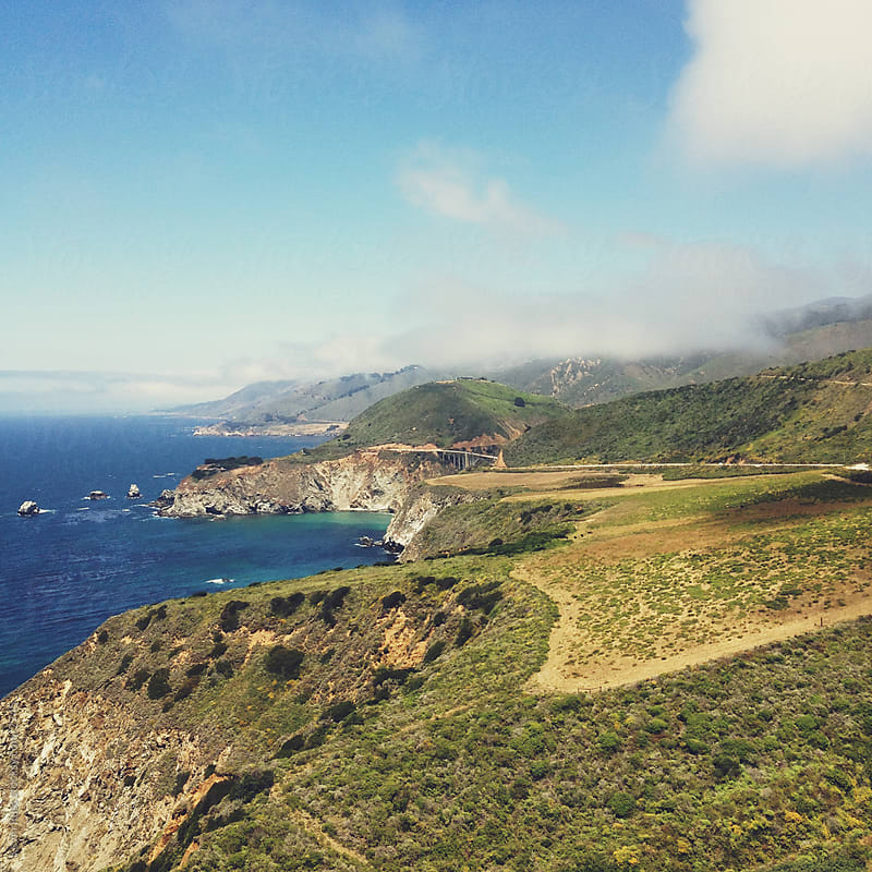 Big Sur Coast by Kevin Russ for Stocksy United