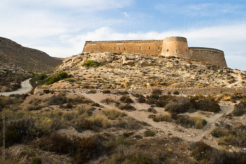 Castle of San Ramon, Almeria by ACALU Studio for Stocksy United