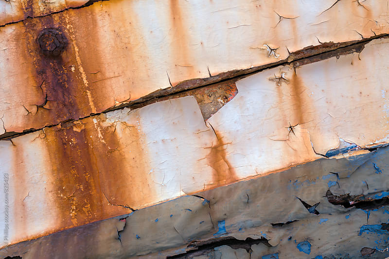 Rotting hull of a boat in detail. by Paul Phillips for Stocksy United
