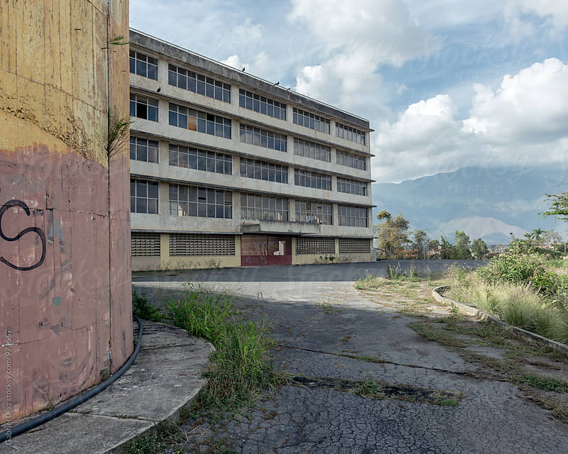 abandoned school Building by Gabriel Diaz for Stocksy United