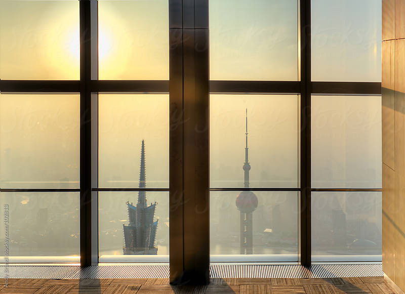 Above (Shanghai) by Andy Brandl for Stocksy United