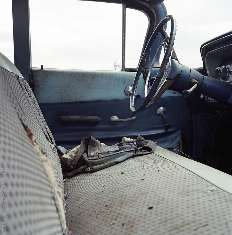 abandoned  car by Kirill Bordon photography for Stocksy United