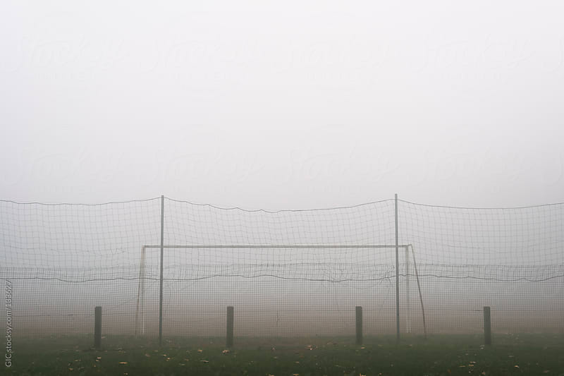 Foggy landscape background by GIC for Stocksy United