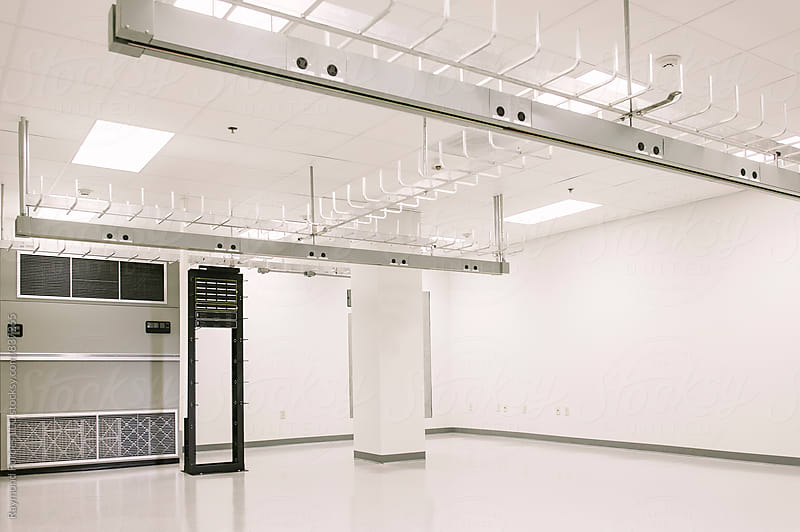 Computer Server Room by Raymond Forbes LLC for Stocksy United