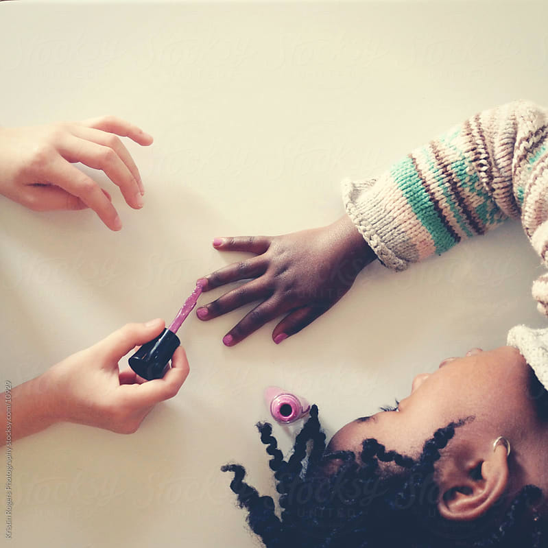 Painting Nails by Kristin Rogers Photography for Stocksy United