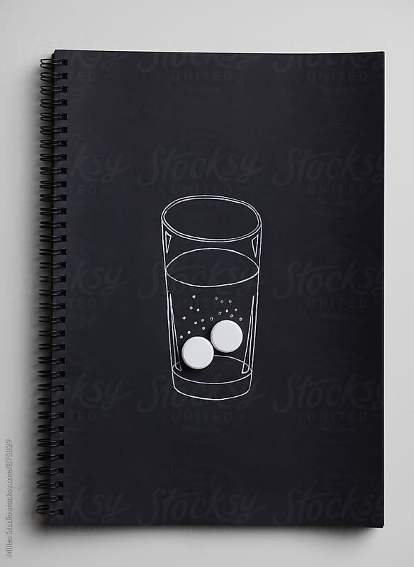 Glass of aspirin by Milles Studio for Stocksy United