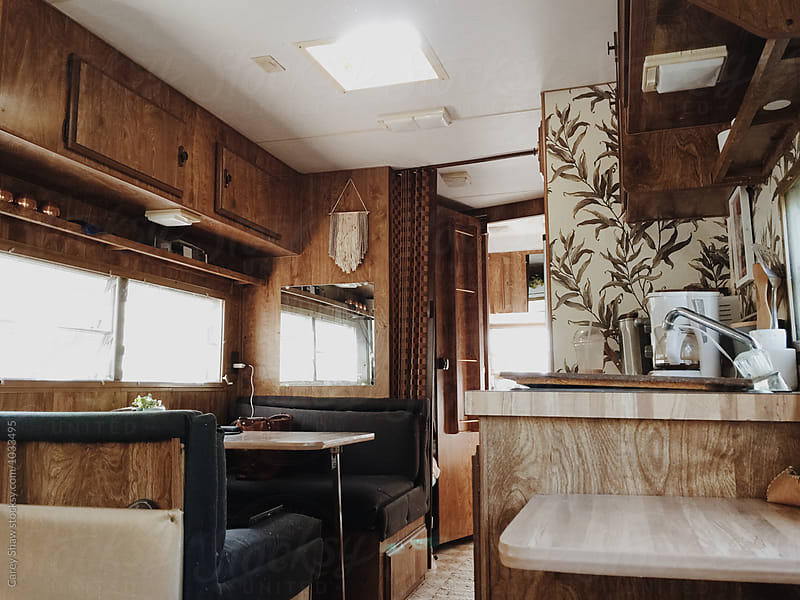 Vintage RV trailer by Carey Shaw for Stocksy United