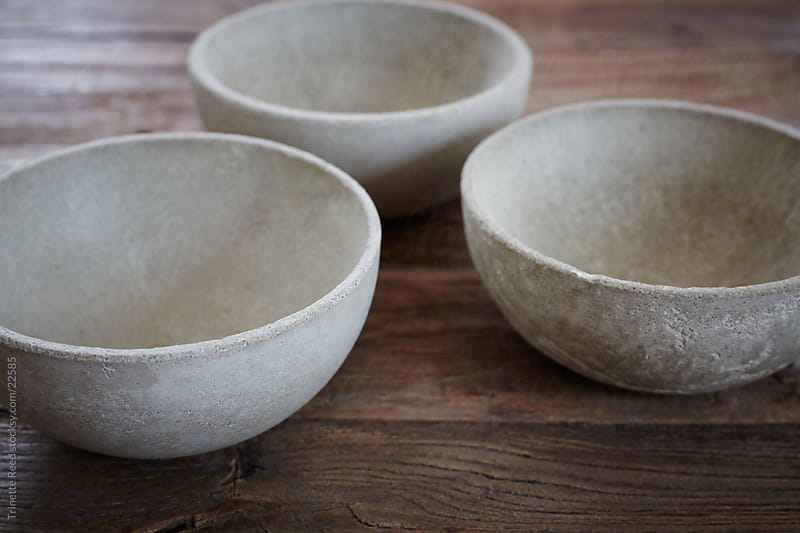 Concrete Bowls by Trinette Reed for Stocksy United