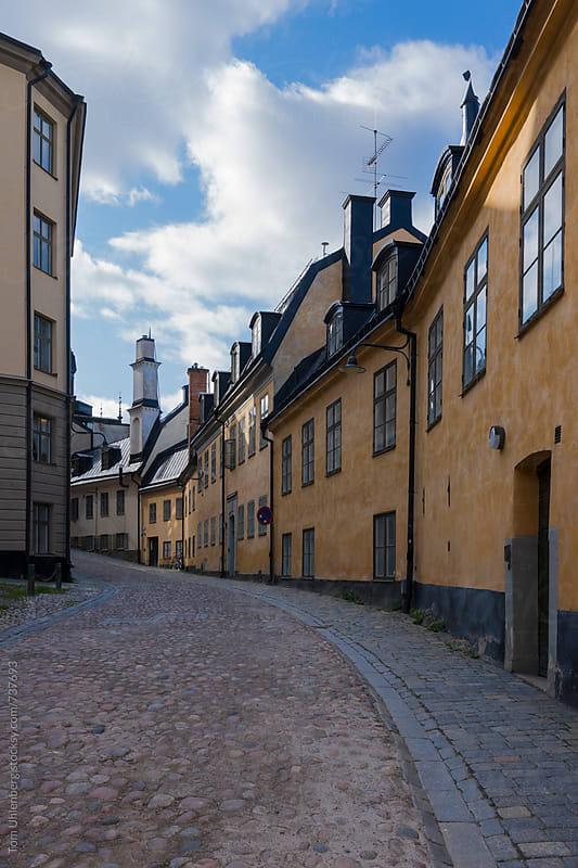 Stockholm, Sweden - Street in Södermalm District by Tom Uhlenberg for Stocksy United