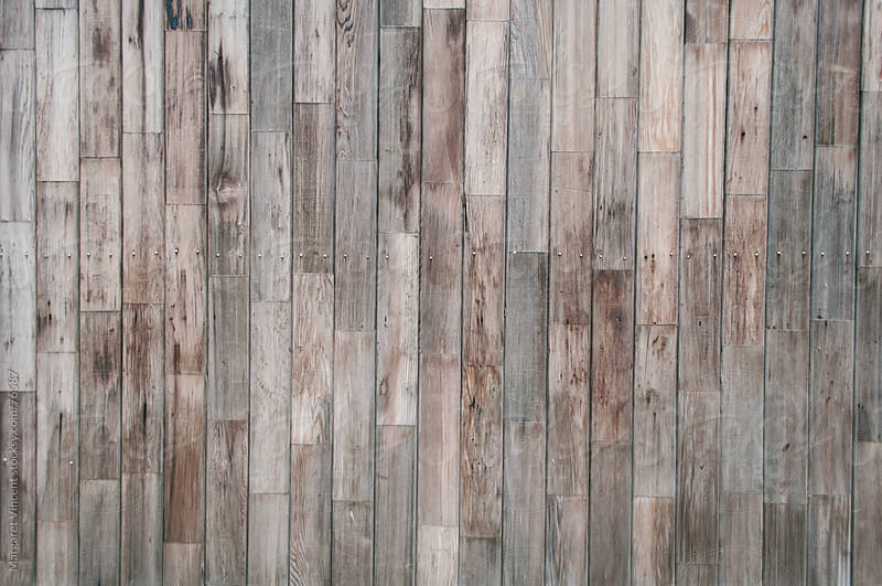 slats of a wooden wall by Margaret Vincent for Stocksy United