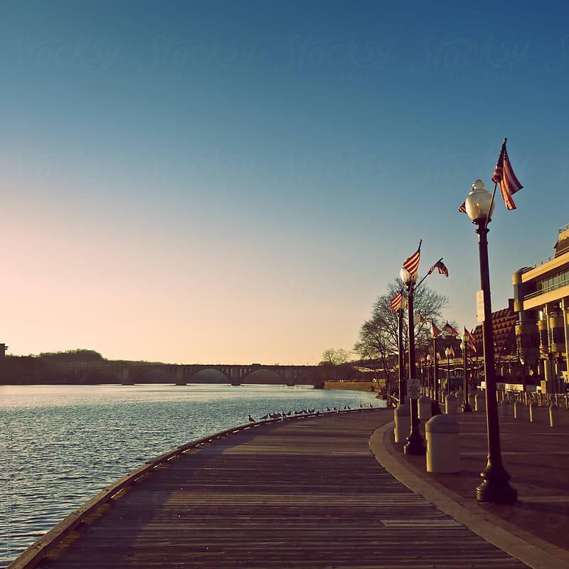 Georgetown Boardwalk, Washington DC by Cameron Whitman for Stocksy United