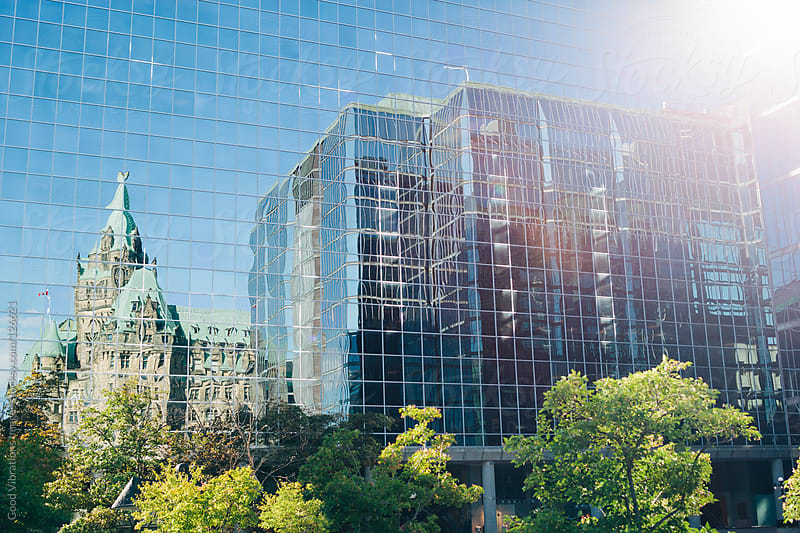 Reflections in Ottawa by Good Vibrations Images for Stocksy United