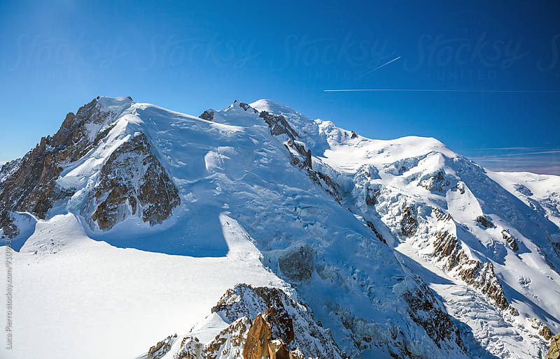 Mont blanc and Mont Maudit, Chamonix by Luca Pierro for Stocksy United