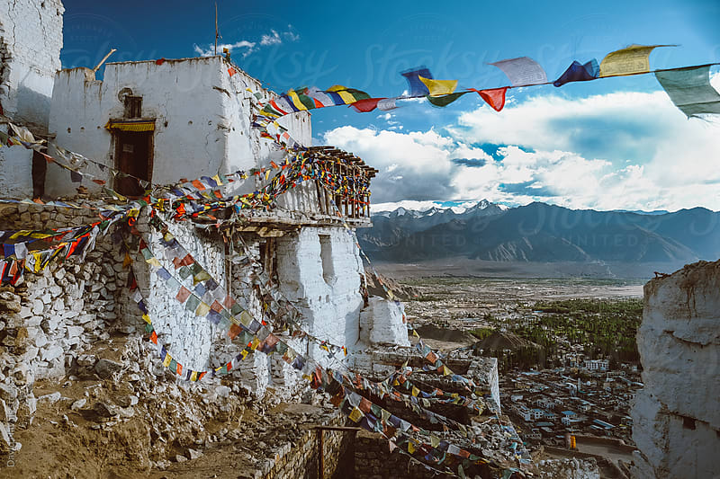 Namgyal Tsemo Monastery by David Navais for Stocksy United