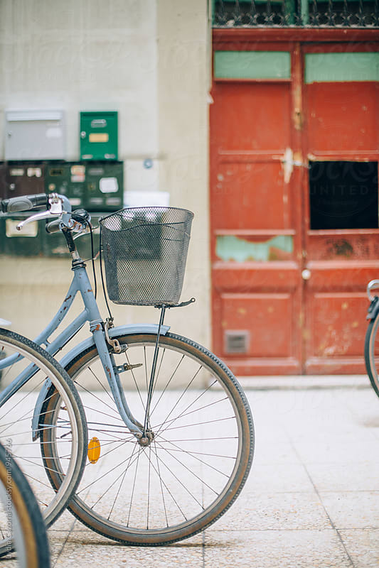 Vintage bicycle by Lydia Cazorla for Stocksy United