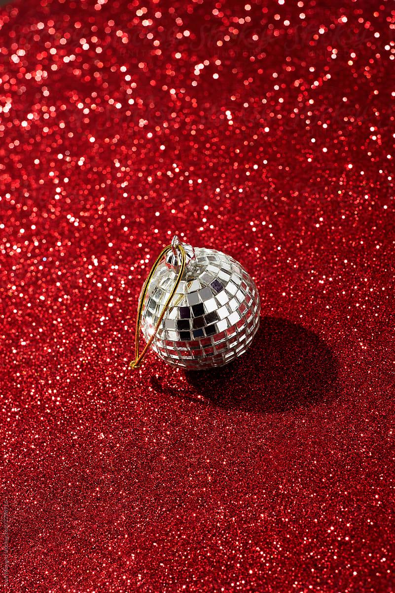 christmas disco ball by Juan Moyano for Stocksy United
