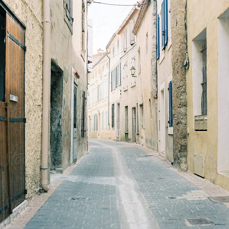 A typical French Street by Andrew Spencer for Stocksy United