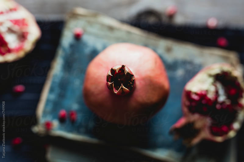 Pomegranate by Tatjana Zlatkovic for Stocksy United